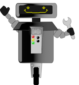 可愛いロボット